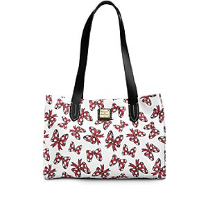 Minnie Mouse Bow Small Shopper Bag by Dooney & Bourke - White