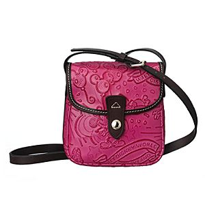 Disney Sketch Leather Small Crossbody Bag by Dooney & Bourke - Pink