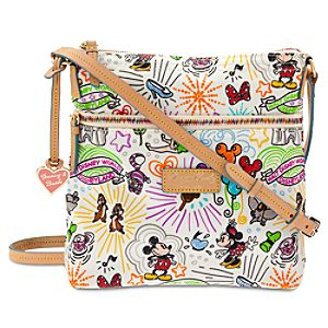 Disney Sketch Nylon Letter Carrier Bag by Dooney & Bourke