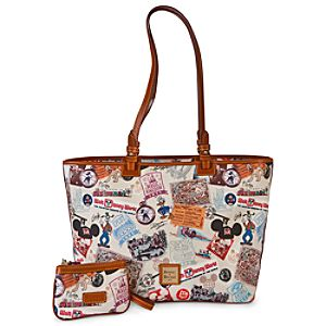 Walt Disney World Shopper Bag & Wristlet by Dooney & Bourke