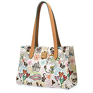 Disney Sketch Small Shopper Bag by Dooney & Bourke