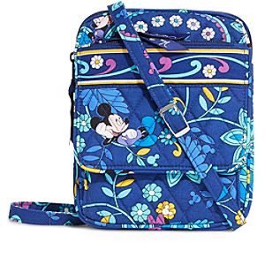 Mickey and Minnie Mouse Disney Dreaming Mini Hipster Bag by Vera Bradley