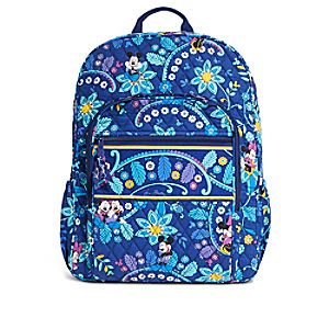 Mickey and Minnie Mouse Disney Dreaming Campus Backpack by Vera Bradley