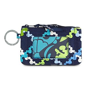 Wheres Mickey? Zip ID Case by Vera Bradley