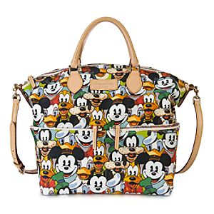 Mickey Mouse and Friends Faces Satchel by Dooney & Bourke