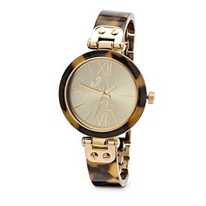 Mickey Mouse Tortoiseshell Watch for Women