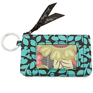 Mickeys Perfect Petals Zip ID Case by Vera Bradley