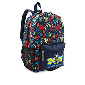 Mickey Mouse Backpack - Walt Disney World 2015