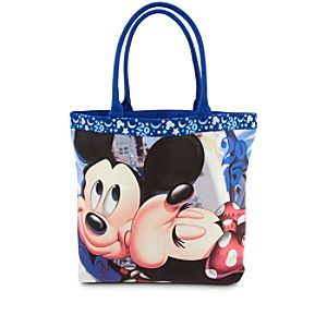 Mickey and Minnie Mouse Tote - Disney Parks 2015