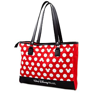Minnie Mouse Polka Dot Tote - Walt Disney World - Red