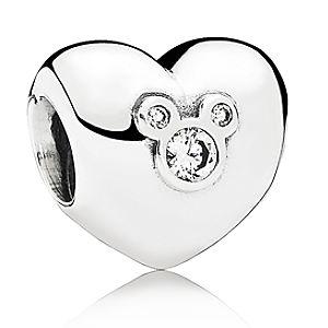 Mickey Mouse Heart of Mickey Charm by PANDORA