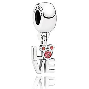 Mickey Mouse LOVE Mickey Charm by PANDORA