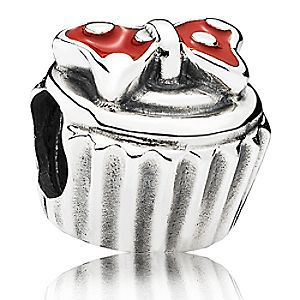 Minnie Mouse Minnie Cupcake Charm by PANDORA
