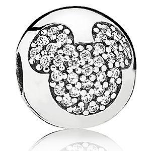 Mickey Mouse Mickey Pavé Charm by PANDORA
