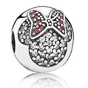 Minnie Mouse Minnie Pavé Charm by PANDORA