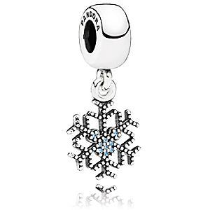 Mickey Mouse Mickeys Sparkling Snowflake Charm by PANDORA