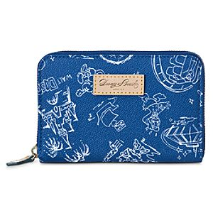Disneyana Wallet by Dooney & Bourke - Walt Disney World - Navy