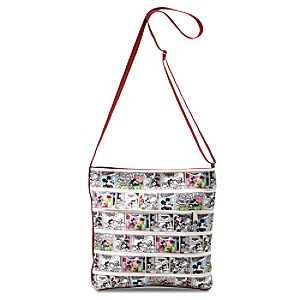 Mickey Mouse Classic Comics Streamline Crossbody Bag by Harveys