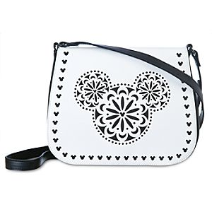 Mickey Mouse Icon Laser Cut Crossbody Bag by Vera Bradley