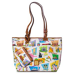 Disneyland Retro Leisure Shopper Tote by Dooney & Bourke