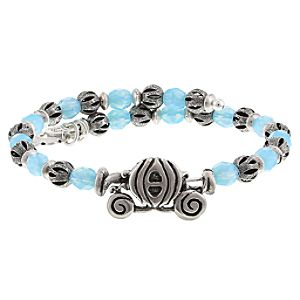 Cinderella Silver Wrap Bracelet by Alex and Ani