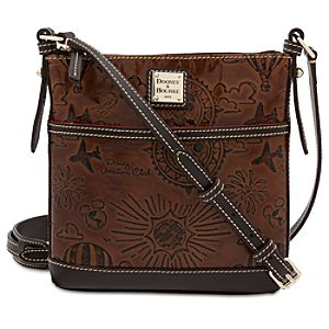 Disney Vacation Club Leather Letter Carrier Bag by Dooney & Bourke