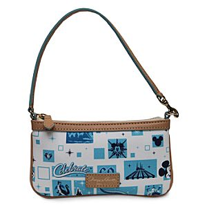 Disneyland Diamond Celebration Wristlet by Dooney & Bourke
