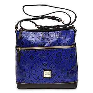 Disneyland Diamond Celebration Leather Crossbody Bag by Dooney & Bourke