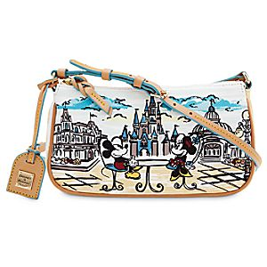 Mickey and Minnie Mouse Crossbody Bag by Dooney & Bourke - Walt Disney World
