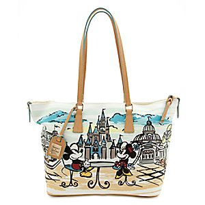 Mickey and Minnie Mouse Shopper by Dooney & Bourke - Walt Disney World