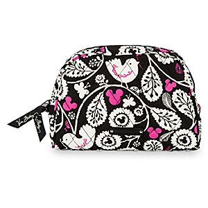 Mickey Mouse Meets Birdie Medium Cosmetic Bag by Vera Bradley