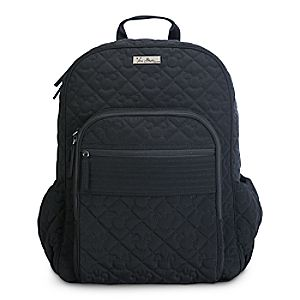 Mickey Mouse Icon Campus Backpack by Vera Bradley - Black