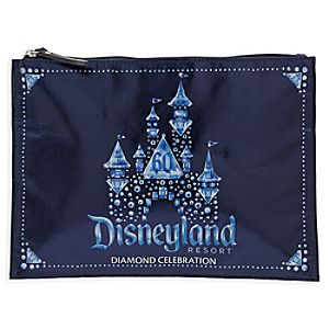 Disneyland 60th Anniversary Clutch Bag