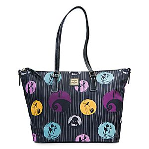 Tims Burtons The Nightmare Before Christmas Shopper Tote by Dooney & Bourke