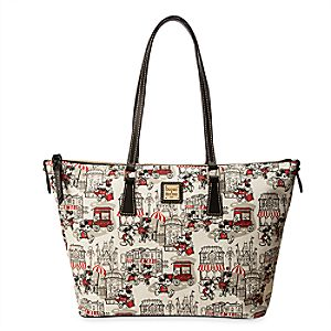 Mickey and Minnie Mouse Downtown Shopper by Dooney & Bourke