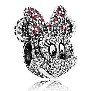 Minnie Mouse Pavé Charm by PANDORA - Limited Edition
