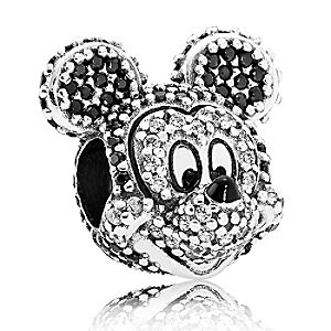Mickey Mouse Pavé Charm by PANDORA - Limited Edition
