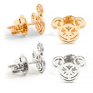 Mickey Filigree Post Earrings by Alex and Ani