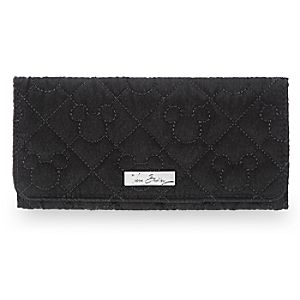 Mickey Mouse Icon Wallet by Vera Bradley - Black