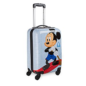 Mickey and Minnie Mouse Rolling Luggage - 20 - Aulani, A Disney Resort & Spa