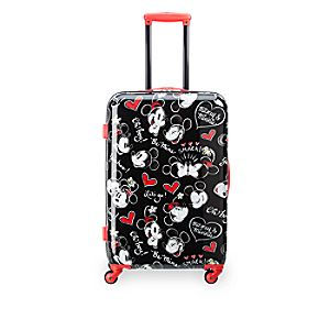 Mickey and Minnie Mouse Rolling Luggage - 26
