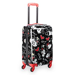 Mickey and Minnie Mouse Rolling Luggage - 21