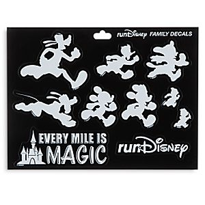 Mickey Mouse and Friends Window Decals - runDisney