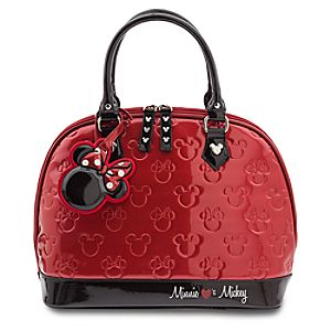Minnie Loves Mickey Fashion Bag by Loungefly