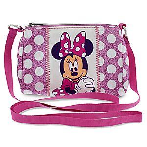 Minnie Mouse Sparkling Crossbody Bag
