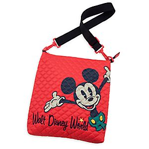 Mickey Mouse Quilted Crossbody Bag - Walt Disney World