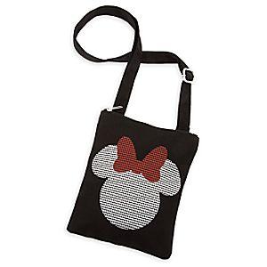Minnie Mouse Canvas Letter Carrier Bag