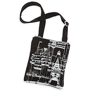 Walt Disney World Castle Canvas Letter Carrier Bag