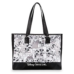 Mickey Mouse Comic Strip Tote Bag - Disney Cruise Line