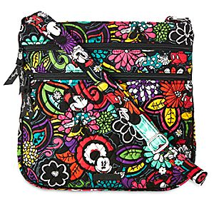 Mickeys Magical Blooms Hipster Bag by Vera Bradley